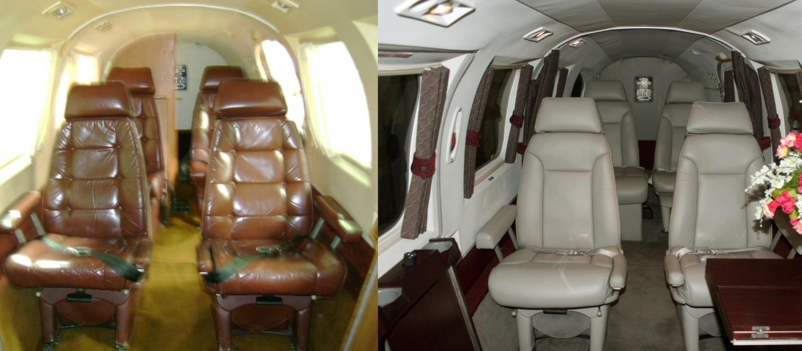 Interior Before and After
